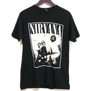 Nirvana Graphic Concert Band Tee Rock & Roll